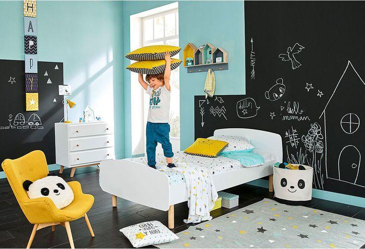 Erkek çocuk odası duvar dekorasyonu