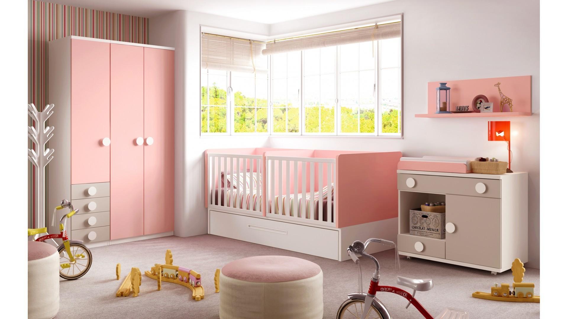 en popüler kız bebek odası dekorasyonu